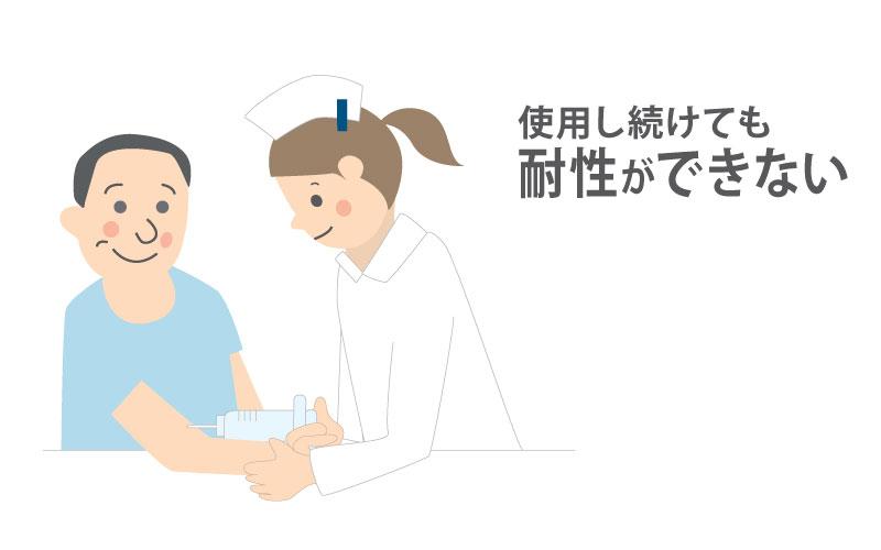 遺伝子治療は体内に耐性ができることはありません